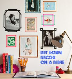 DIY Dorm Decor On A Dime: Cheap & Easy Ideas On A Budget (The Kicksend Blog)