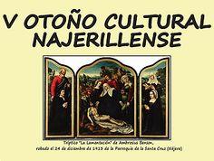 """La Asociación de Amigos de la Historia Najerillense celebrará hoy la primera conferencia que se enmarca dentro del programa """"V Otoño Cultural Najerillense"""" #Nájera #Historia"""