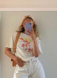 Cute Casual Outfits, Retro Outfits, Vintage Outfits, Summer Outfits, Mode Outfits, Fashion Outfits, Girl Outfits, Fashion Shoes, Outfit Look