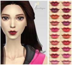 LIPSTICK #2 non-facepaint at JSBoutique via Sims 4 Updates