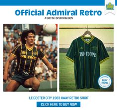Admiral Sportswear - Official Admiral Retro - A British Sporting Icon