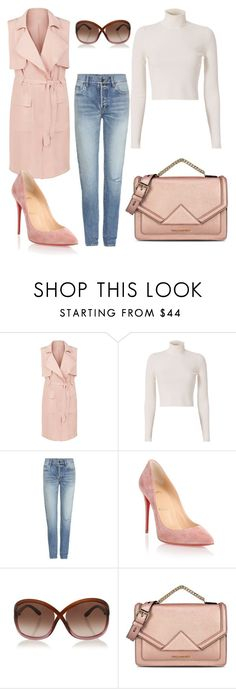 """Untitled #911"" by kayla250 ❤ liked on Polyvore featuring New Look, A.L.C., Yves Saint Laurent, Christian Louboutin, Tom Ford and Karl Lagerfeld"