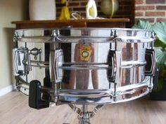 The most recorded drum in History. Ludwig supraphonic snare from 1966