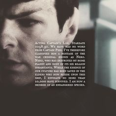 Spock - oh the feels ;-;