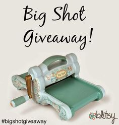 Blitsy Giveaway! http://www.blitsycrafts.com/2014/10/winner-announcement-and-another-giveaway.html