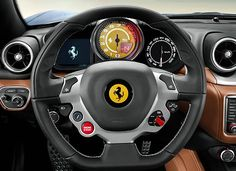 On the road in the Ferrari California T