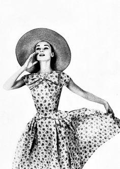 Audrey Hepburn by Richard Avedon for Harper's Bazaar, 1957