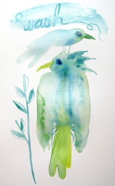 Golly Bard's Drawing Room: Watercolor 101 | Wash and Wait