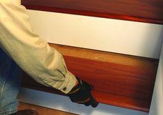 Cómo instalar peldaños de madera dura | Constru-Guía al día