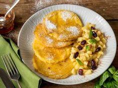 Süße Polenta-Pancakes