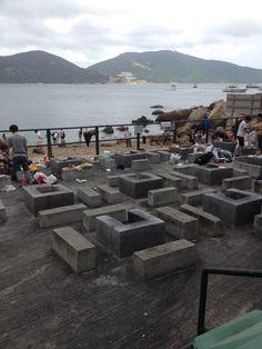 BBQ pits in Hong Kong
