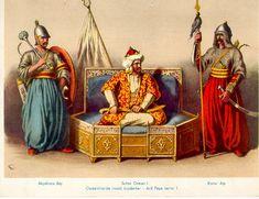 Padişah1  - 1281–1326 (ilk)Osman Gazi  - 1444-1446, 1451-1481Fatih Sultan Mehmed  - 1512-1520Yavuz Sultan Selim  - 1520-1566Kanuni Sultan Süleyman  - 1918–22 (son)Mehmed Vahdettin Sadrazam  - 1320–31 (ilk)Alaeddin Paşa  - 1920–22 (son)Ahmed Tevfik Paşa Tarihi  - Kuruluş1299  - Fetret Devri1402–1413  - Lâle Devri1718–1730  - Saltanatın kaldırılması1 Kasım 1922 Yüzölçümü  - 1683[4]5.200.000 km2  - 1914[5]1.800.000 km2