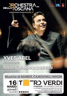 Concerto Abel_Hakhnazaryan Stagione 2016_17 | grafica Ufficio Comunicazione ORT | foto Sandra Kreutzer