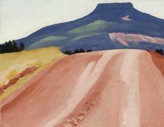 Georgia O'Keeffe, Road to Pedernal, 1941
