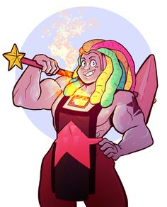 What if…she can smelt metal in her gem? Also, blacksmith hammer. -- SU, Bismuth ||That'd be awesome!:D
