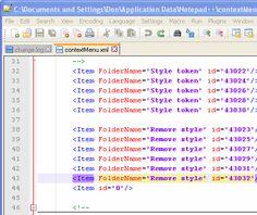 Notepad++ Column Mode Editing