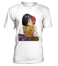 Kokeshis lesbians The kiss of Klimt, LGBT, LESBIAN, GAY, PRIDE Funny Human Rights T-shirt, Best Human Rights T-shirt