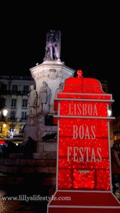 O #natal chega em #lisboa luminoso como nunca mais <3