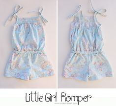 Ashley from Make it & Love It made this beautiful romper with the WWYM challenge fabric! There's a tutorial too!