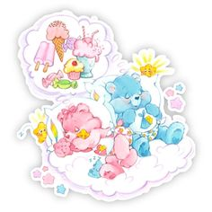 Care Bears Wall Graphics from Walls 360: Care Bears Cloud Dream