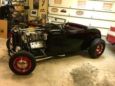 This 1932 Ford Roadster is a custom build that was inspired by the Joe Nitti '32 hot rods of the 1950s. It is powered by a 276ci V8 1942 Mercury flathead engine paired to a C4 Ford-o-Matic transmission. The receipts from the build are available along with $10k of recent upgrades and service records.