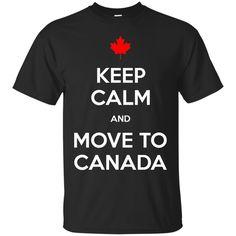 Keep Calm Move to Canada