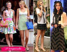 """Os melhores looks de todas as temporadas de """"Gossip Girl"""" - Moda - CAPRICHO"""