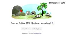 Winter Solstice 2016 (Northern Hemisphere) Winter Solstice 2016 (Northern Hemisphere) #wintersolstice2016 (#NorthernHemisphere) #WinterSolstice #GoogleDoodle check out the video https://youtu.be/lRCFDopHoeA Today marks the first day of summer and the longest day of the year for the southern hemisphere. The summer solstice is named for the brief time when the sun appears to pause its movement across the sky. At that moment, the tilt and rotation of the earth shifts our view of the sun's…