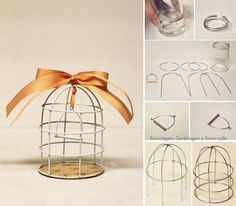 1 million+ Stunning Free Images to Use Anywhere Tin Can Crafts, Wire Crafts, Diy And Crafts, Book Crafts, Diy Bird Cage, Anniversaire Harry Potter, Quilled Paper Art, Miniature Crafts, Deco Table
