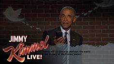 Mean Tweets: Barack Obama liest wieder Tweets über sich vor