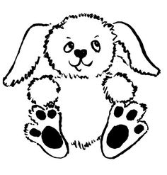 free printable coloring pages for kids cute bunny to color click for more coloring