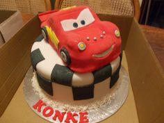 cars themed novelty cake