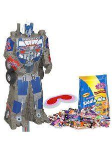6 Robot Transformer Figures Pinata Toy Loot//Party Bag Fillers Wedding//Kids