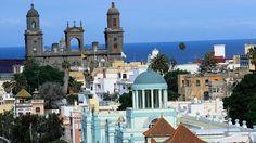 Las Palmas Merian, Canario, Canary Islands, Atlantic Ocean, Old Town, Taj Mahal, Places To Visit, House Styles, Travel
