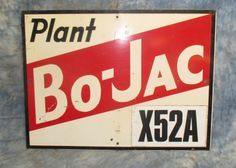 24 x 18 Plant Bo-Jac X524A Seed Corn Vintage by TheOldGrainery