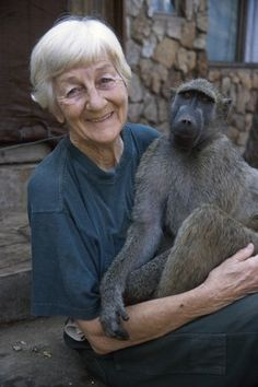 Rita Miljo established C.A.R.E. in 1989 as a rehabilitation centre for injured indigenous wildlife. Initially caring for diverse small mammals, Mrs Miljo became expert in nurturing baboons which became the main focus of C.A.R.E.'s work. She developed a method to integrate the animals into new troops that could be successfully released into the wild. Photo © IFAW/Jon Hrusa