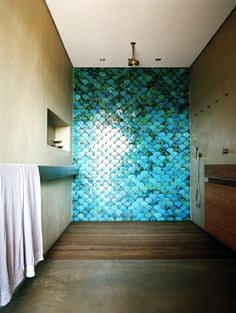 Fish Scale Wall