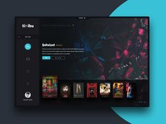Hello to everyone! Today, I have redesigned the interface of tivibu, which is t… Hello to everyone! Today, I have redesigned the interface of tivibu, which is the smart TV application I used in my house.