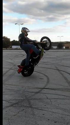 #stuntrider #stuckinohio #wheelie