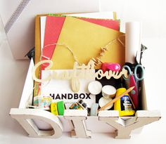Mummy and Annie DIY: WASHI KIT DE HANDBOX: los proyectos de la Washiped...