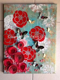 Made-By-Me....Julie Ryder: New! Blossom Garden....