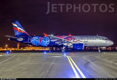 Promoting the basketball team of PBK CSKA Moskou, fresh painted at Maas Aviation Maastricht!. VP-BWE. Airbus A320-214. JetPhotos.com is the biggest database of aviation photographs with over 3 million screened photos online!