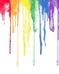 Rainbow Painting, Drip Painting, Rainbow Art, Wallpaper Iphone Cute, Galaxy Wallpaper, Cute Wallpapers, Wallpaper Shelves, Drip Art, Color Palette Challenge