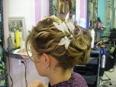 Hermoso peinado de novia