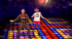 """greatest Colbert Report music video of all time — a dance party to Daft Punk's """"Get Lucky"""" featuring Matt Damon, Hugh Laurie, Jeff Bridges, Bryan Cranston (pictured), Jimmy Fallon, Henry Kissinger (?!), the Rockettes, Jon Stewart via satellite, the entire production of America's Got Talent, and more."""