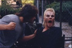 Behind the scenes of The Lost Boys. Kiefer Sutherland & Jason Patric