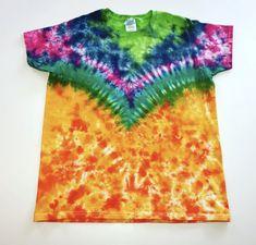 Bird of Paradise Armor Tie Dye Medium 6 OZ Heavy Cotton T-Shirt Tie Dye Party, Disney Junior, Tye Dye, Paradise, Bird, Sewing, Medium, T Shirt, Cotton