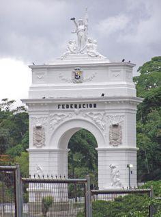 Federation Arch in Caracas, Venezuela