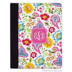 Pea Pod Paper and Gifts Bright Floral iPad Folding Case *AIR, MINI, REGULAR* - iPad Air & Mini Covers - Tech Cases - NEW!