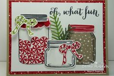 Oh What Fun, Another Jar of Cheer Card